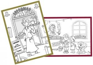 Postkarten-Im-Cafe