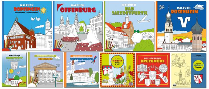 Städtemalbücher