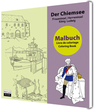 Umschlag Malbuch Chiemsee