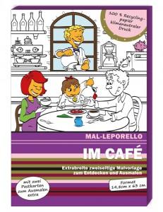 Cover Mal-Leporello im Café