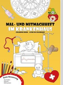 Malbuch Krankenhaus
