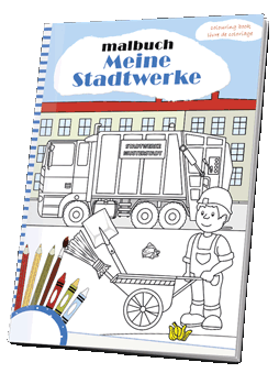 Malbuch Stadtwerke