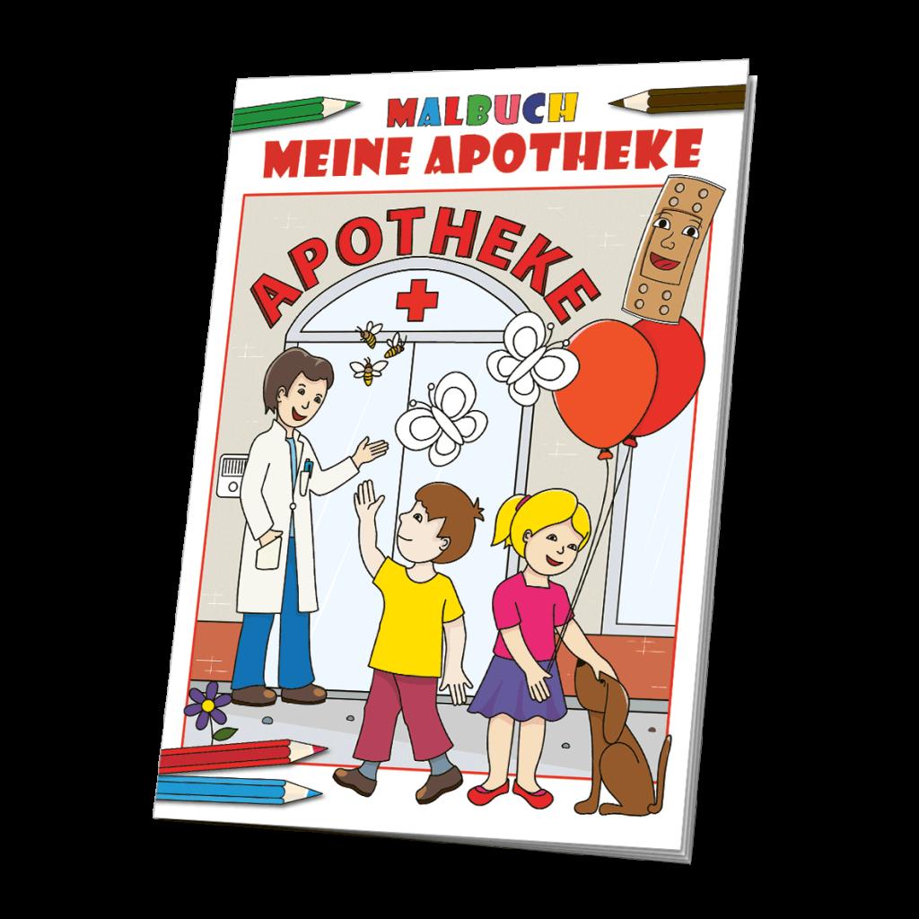 Malbuch Apotheke - das Apothekenmalbuch