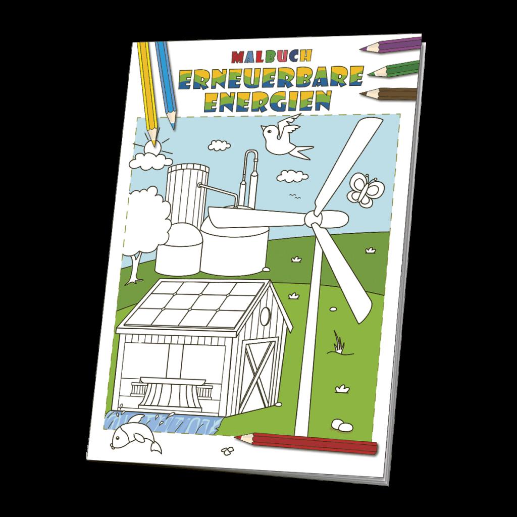 Malbuch Erneuerbare Energien