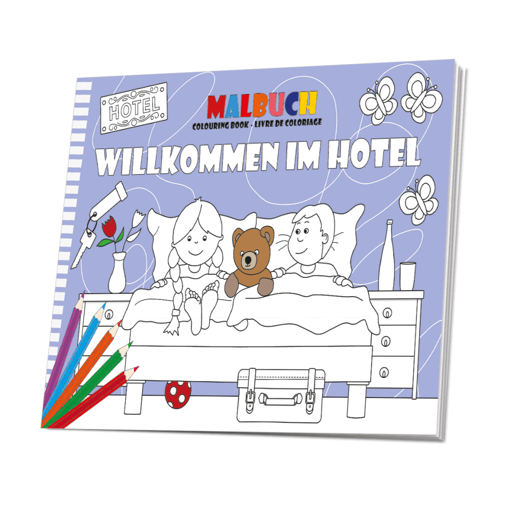 Malbuch Hotel - das Hotelmalbuch