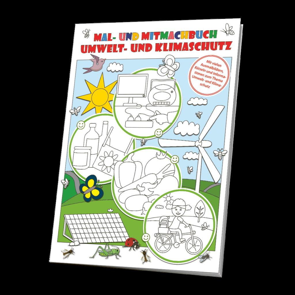 Mal- und Mitmachbuch Umwelt- und Klimaschutz